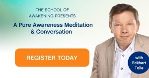 Eckhart Tolle - Pure Awareness Meditation Event
