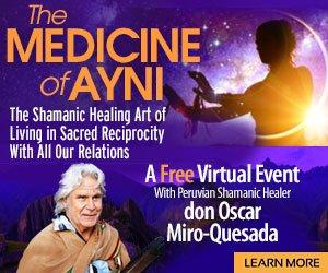 The Medicine of Ayni - with don Oscar Miro-Quesada