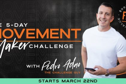 5-Day Movement Maker Challenge With Pedro Adao