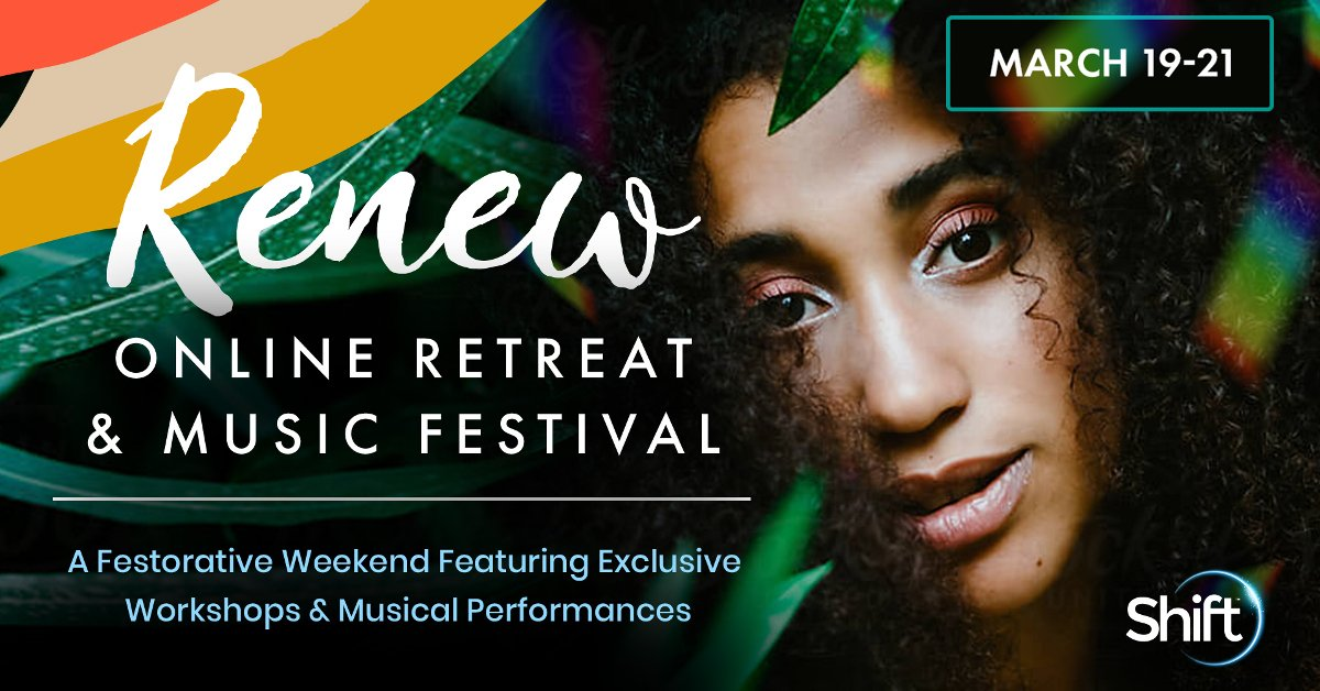 Renew Online Spiritual Music Festival & Retreat - Featuring Ani DeFranco