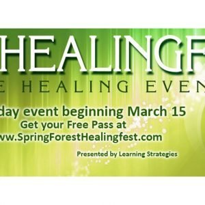 Spring Forest Healing Fest - Free