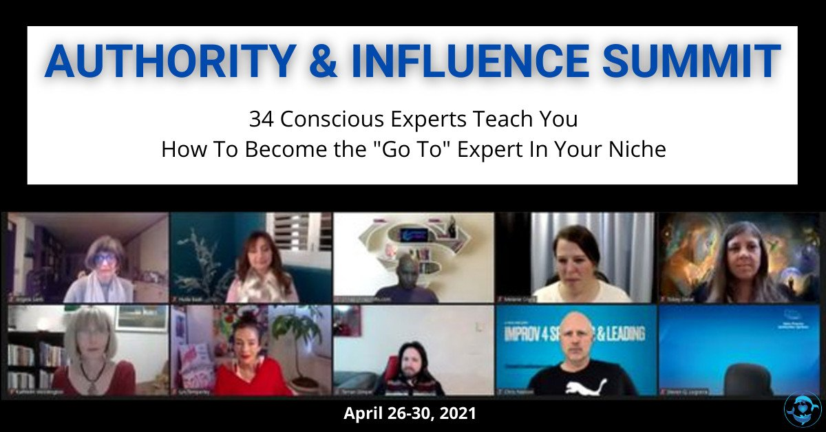 Authority & Influence Summit For Mindful Business Owners - JVIC With Rich German