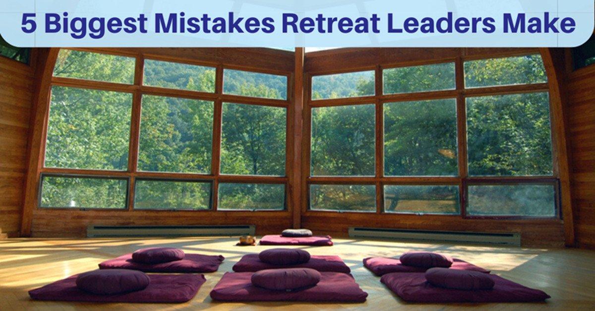 Spiritual Retreat Leader Masterclass: Overcome The 5 Biggest Mistakes Facilitators Make - With Anne Gordon