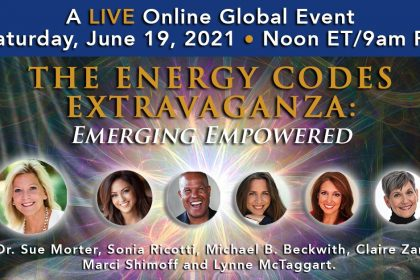 Energy Codes Extravaganza 2021 - For Love, Peace, Purpose, Healing & Connection