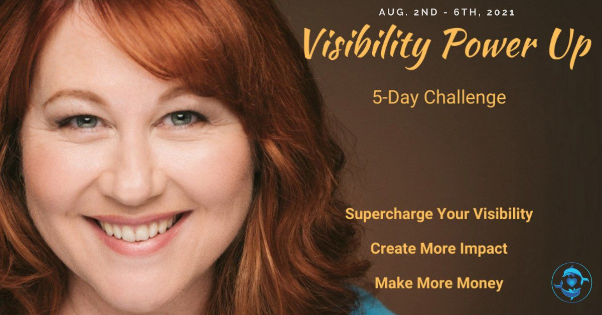 Spiritual Entrepreneur's Visibility Power Up 5-Day Challenge - With Michelle Kopper