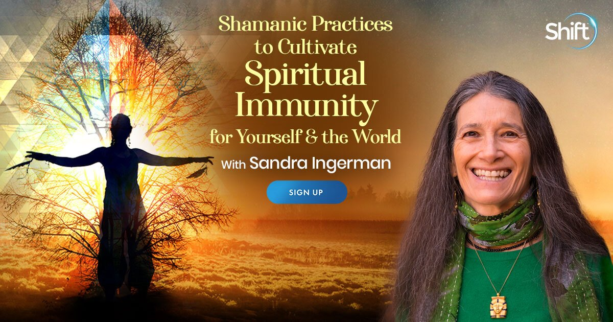 Overcome the Illusion of Separation Using Shamanic Practices For Spiritual Protection - With Sandra Ingerman