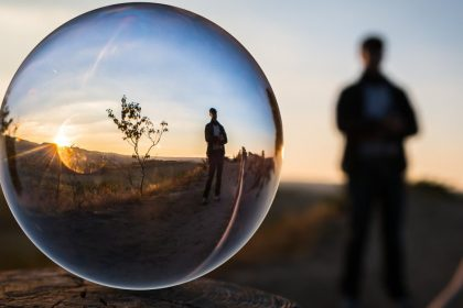 Reflection Bubble - Sunset