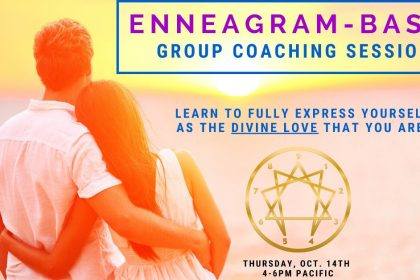 Live Enneagram-Based Group Coaching Session Plus Free Test - With Ben Saltzman