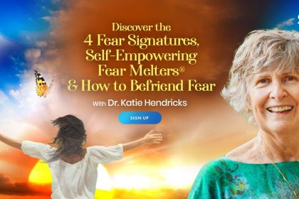 Transform Your Fear Into Presence & Connection: With 4 Self-Empowering